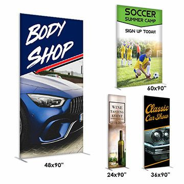 Economic Options for Fabric Banner Stands