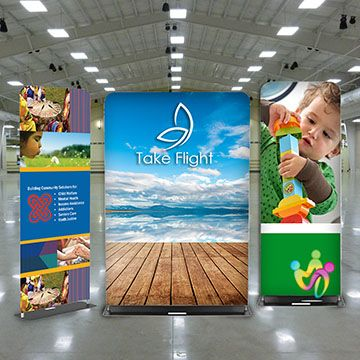 Fabric Banner Stands Options
