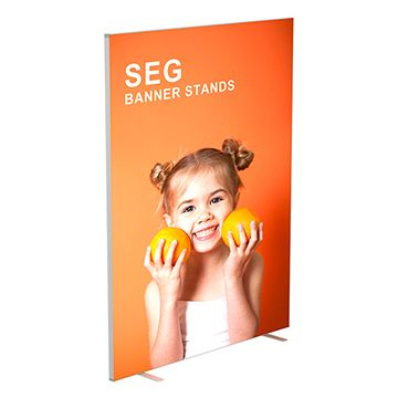 SEG and Backlit Options for Fabric Banner Stands