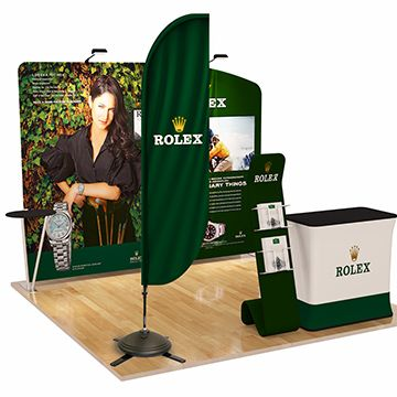 Feather Banners Trade Show Display Options