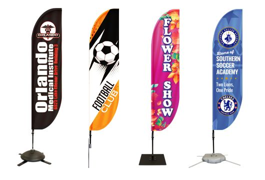 Feather Flag Banners Option