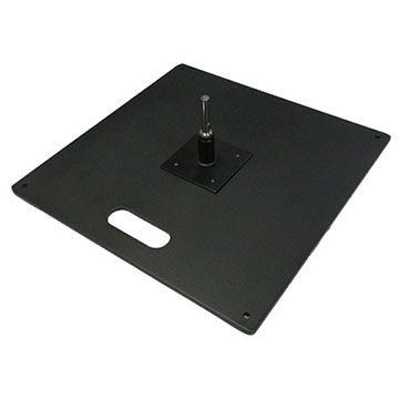 Heavy Duty All Metal Square Base