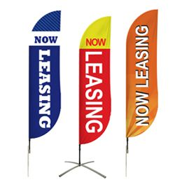 Buy Now Leasing Flags Pre-Designed Online