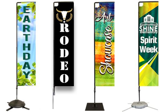 Rectangular Flag Banners Profile