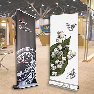 Retractable Banner Stands Premium Options