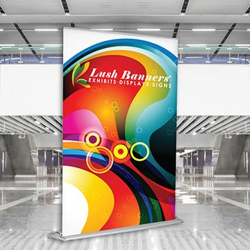 Retractable Banner Stands Premium Silverstep Options