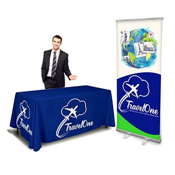 Trade Show Display Kits with Banner Stands Options
