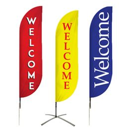 Buy Welcome Flags Pre-Designed Online