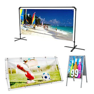 Buy Outdoor Banner Stands Online