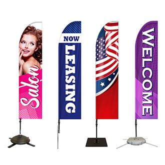 Buy Pre-Designed Feather Flags Online