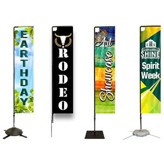 Rectangular Flag Banners Category