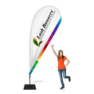 Buy Teardrop Flags And Teardrop Banners Online