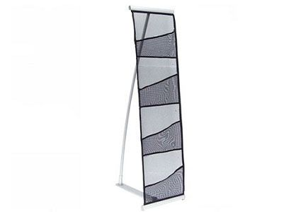 4 Pocket Mesh Literature Stand