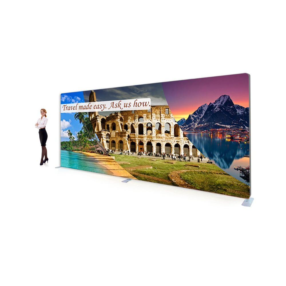 15ft Premium Tension Fabric Display (Straight)