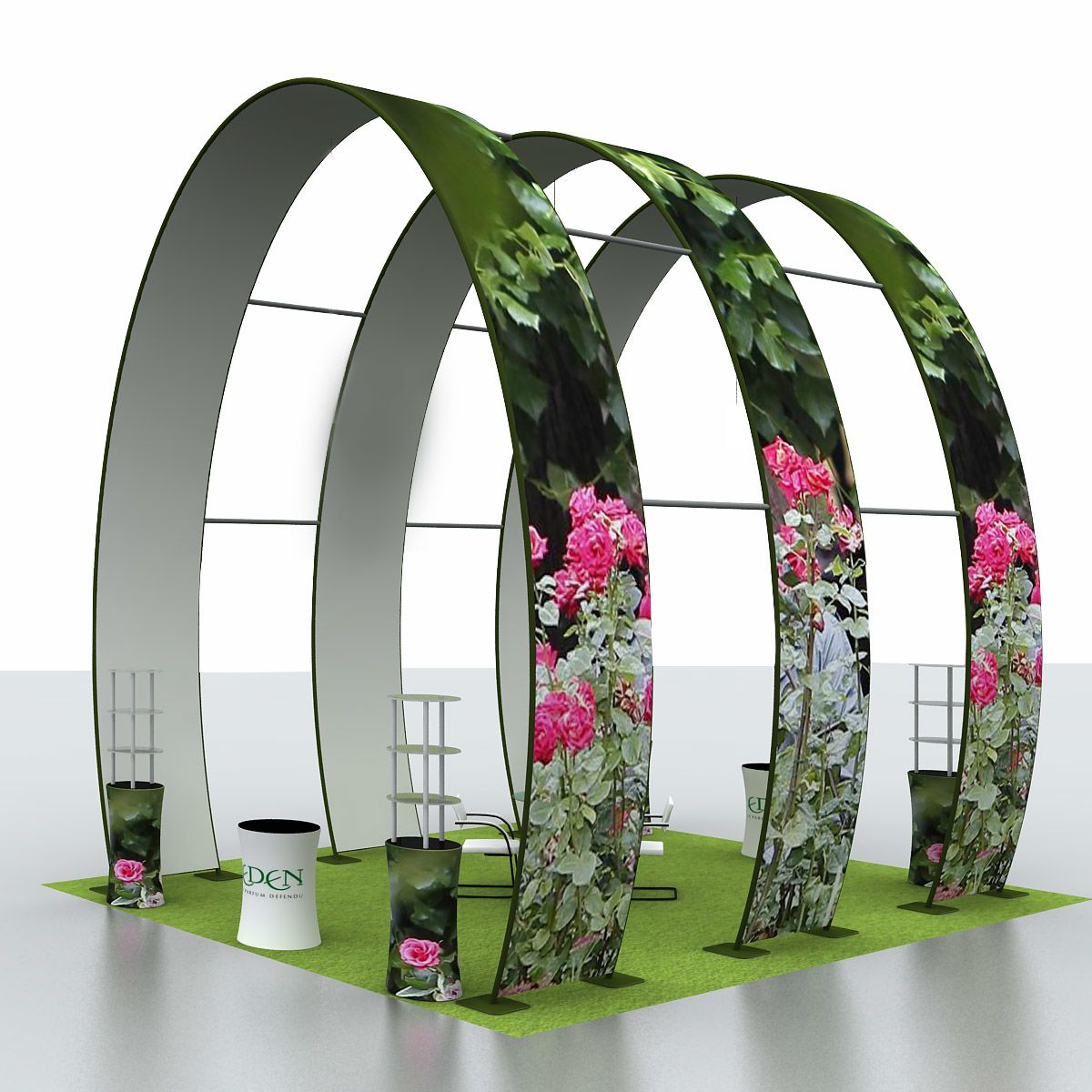 20 x 60ft Grand Arch Display Kit