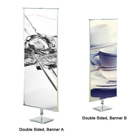 Classic Banner Stands (Double-Sided)