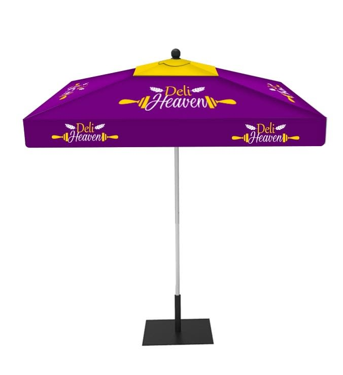 Custom Market Umbrella 9ft Square