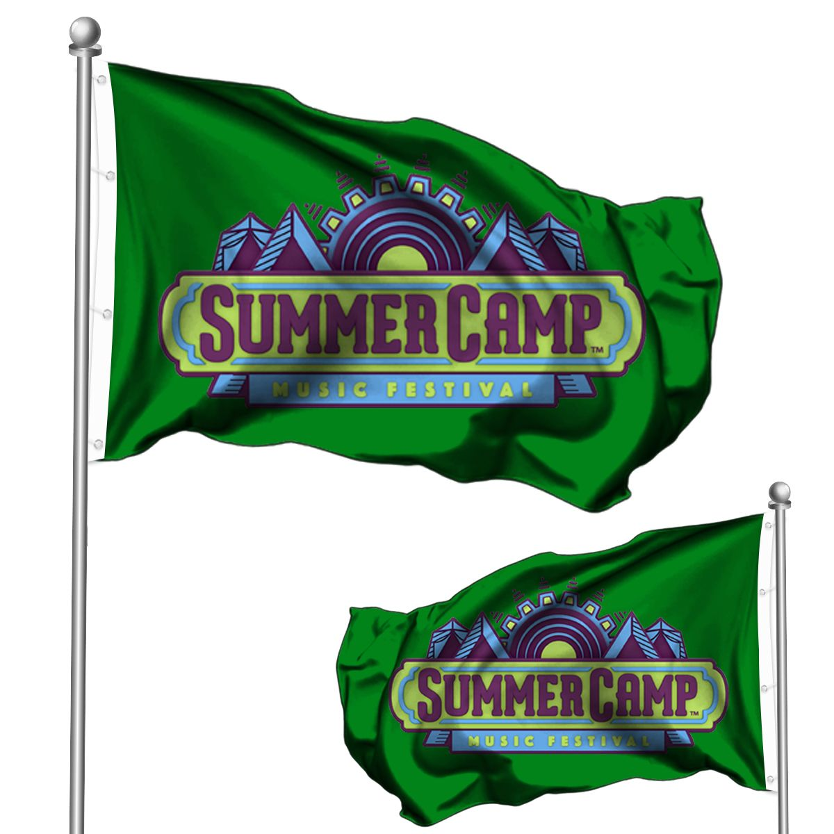 Custom Double-Sided Flags