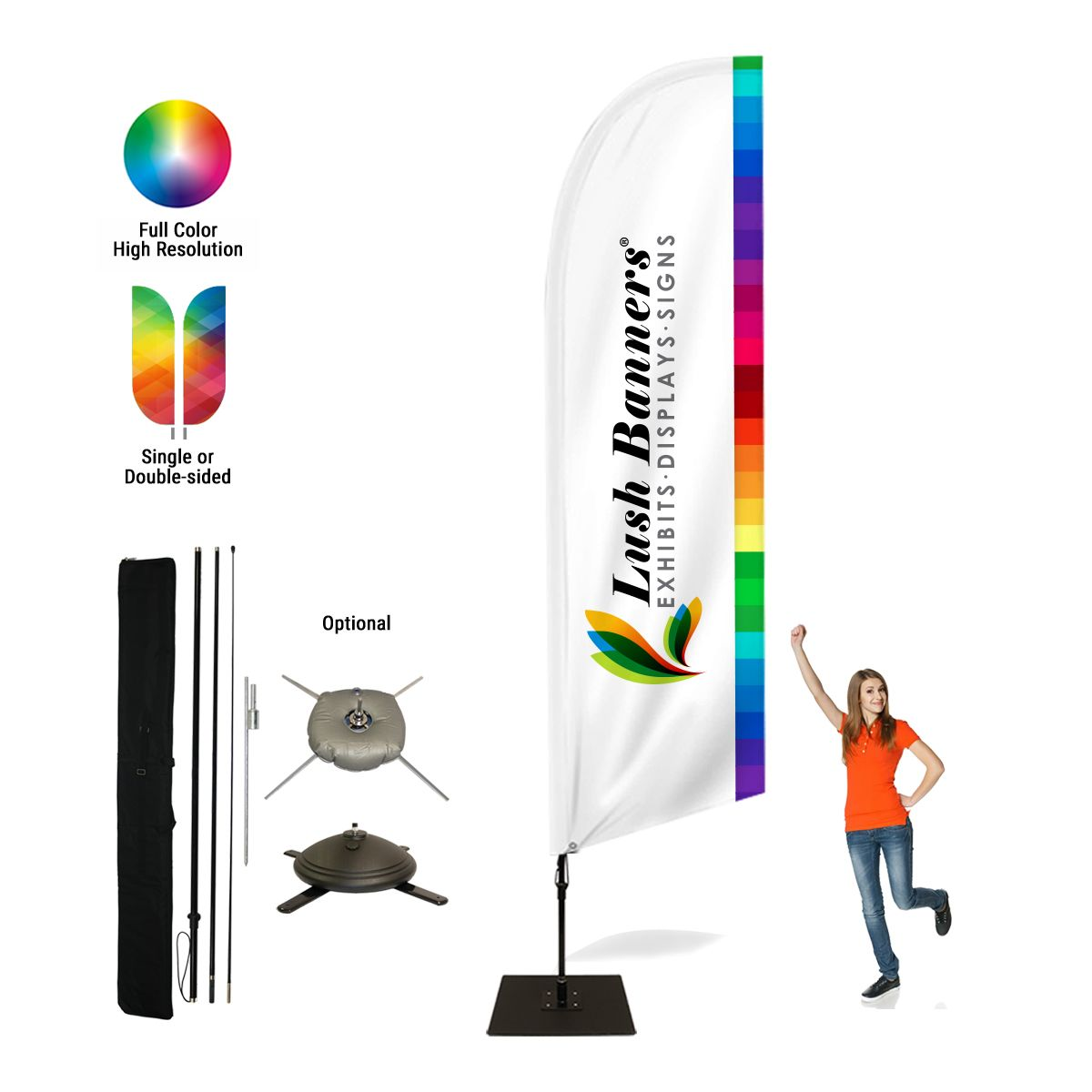 17ft Bowhead Banners