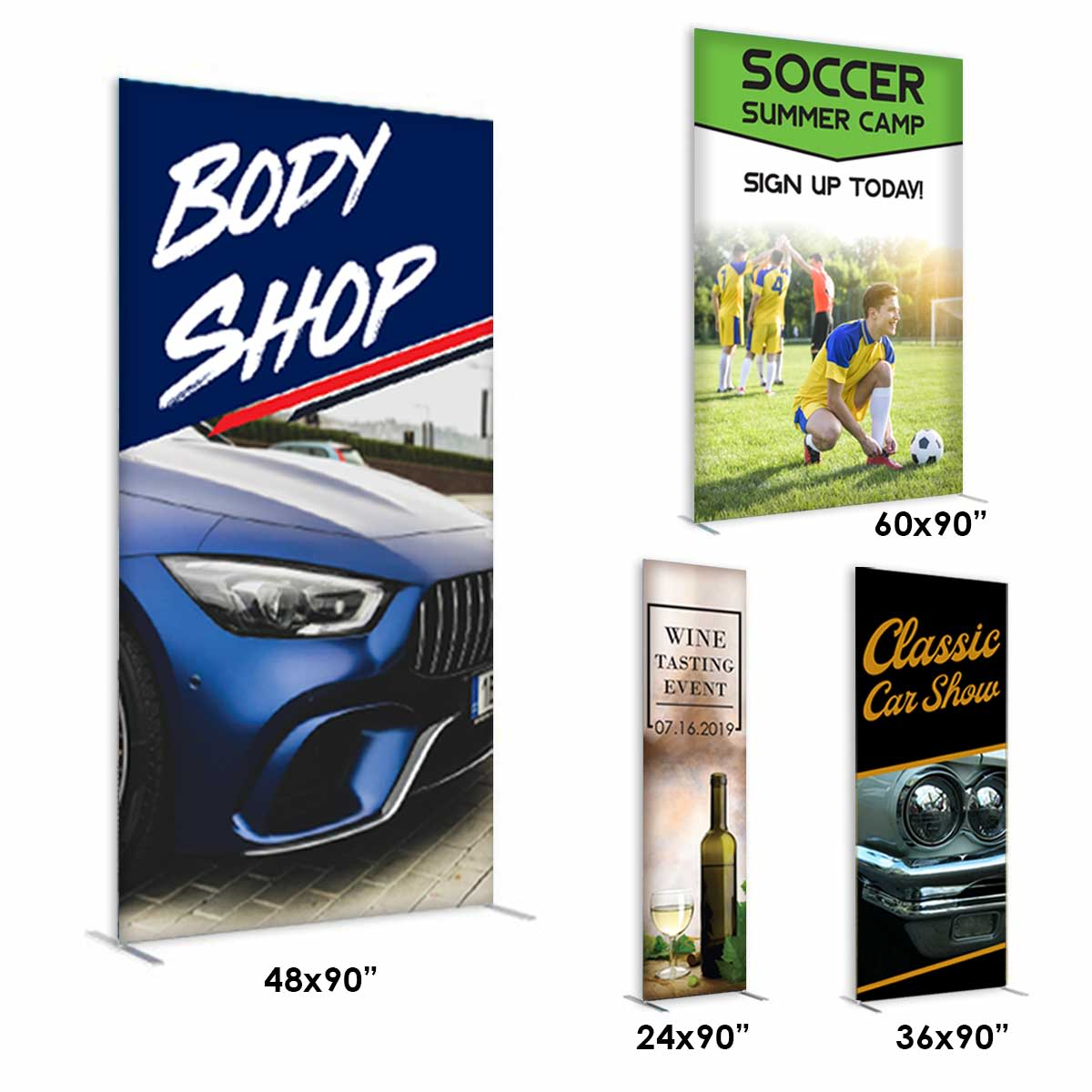 Fabric Banner Stands  (Economy)