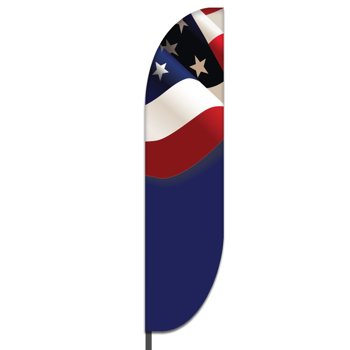 American Feather Flag Design 03