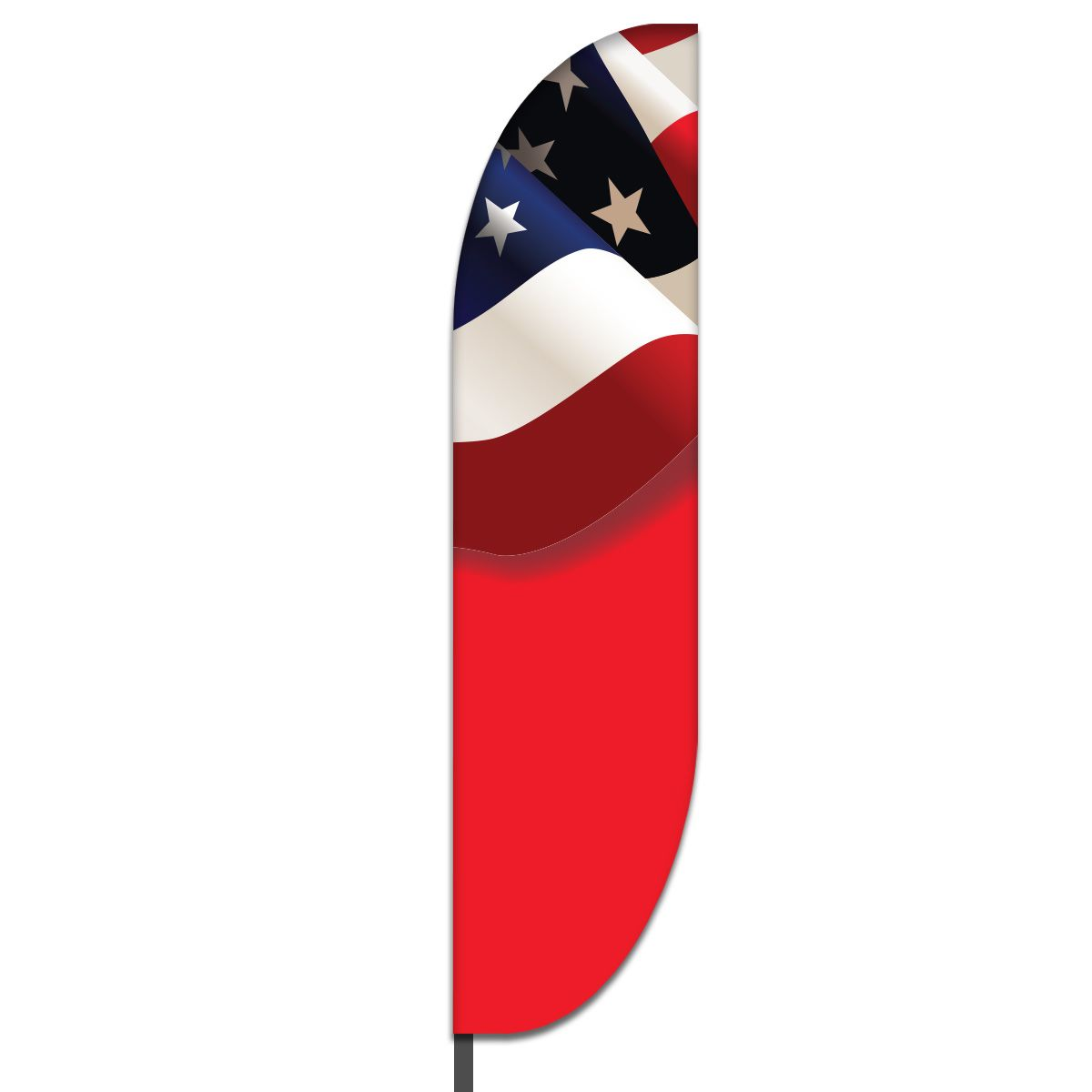 American Feather Flag Design 02