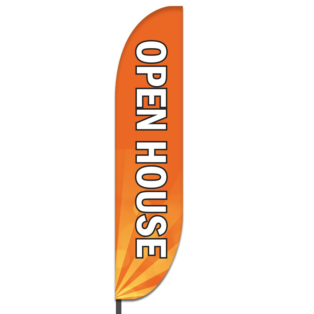 Open House Feather Flag Design 06