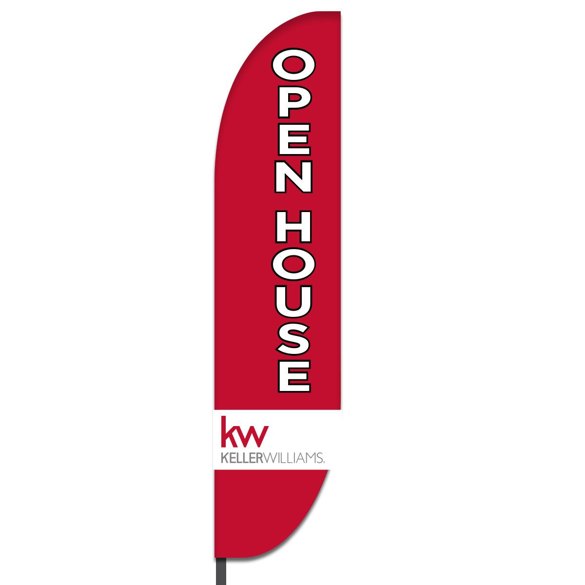Open House Feather Flag Design 07