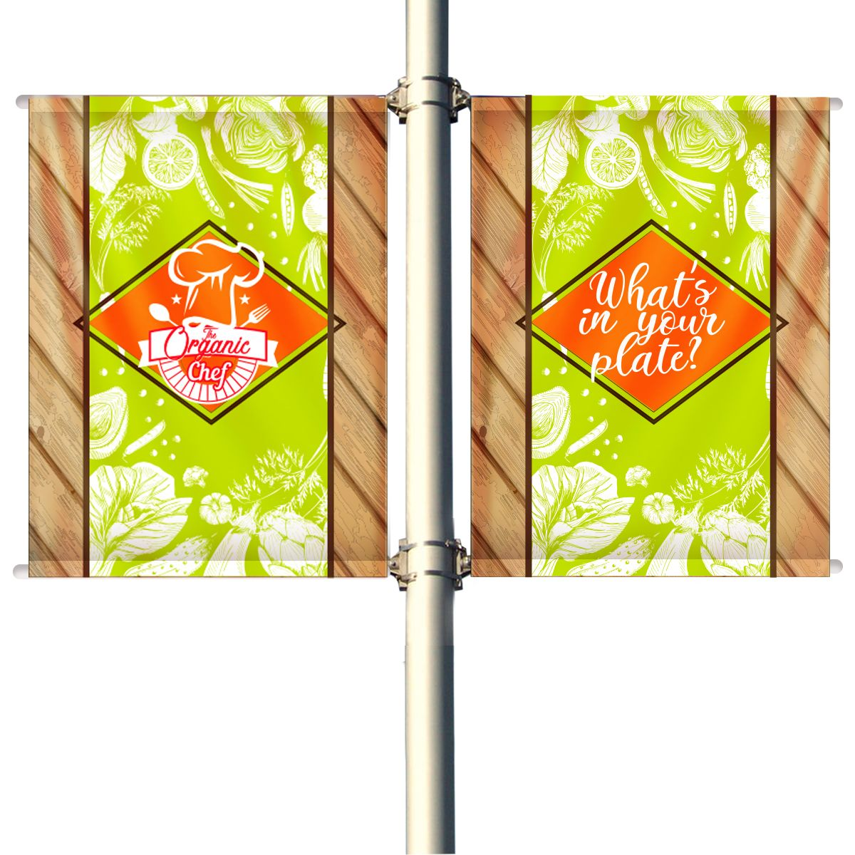 Pole Banners 36
