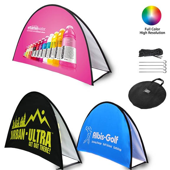 Pop Up A-Frame Banners (Halfmoon)