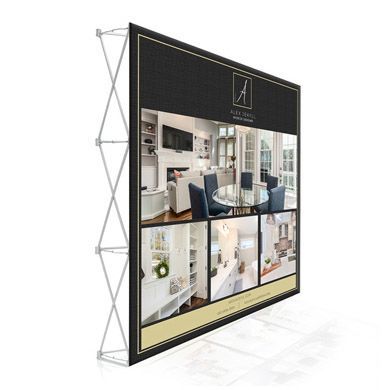 8ft Pop Up Display (Straight)