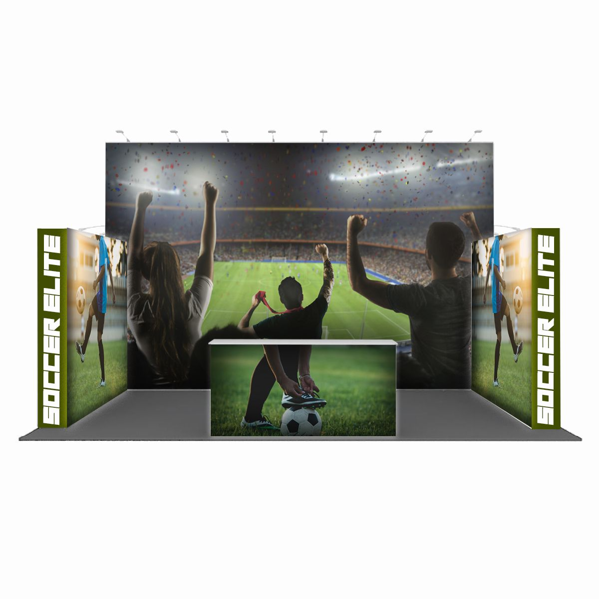 Popular Backlit Display Combination 02 (20' x 10' x 10')
