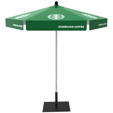 Custom Market Umbrella 8ft Hex