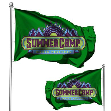 Buy Custom Double Sided Pole Flags Online