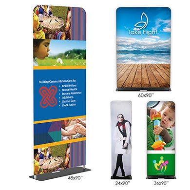 Fabric Banner Stands (Double-Sided)