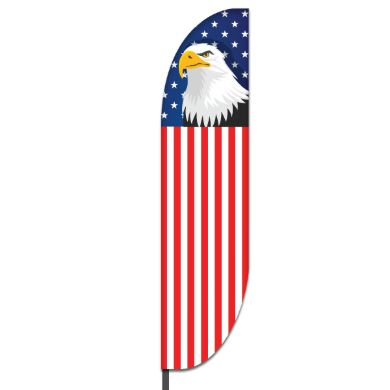 American Feather Flag Design 06