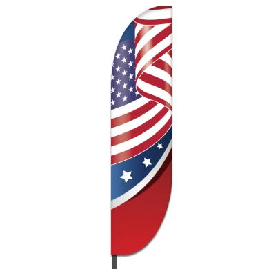 American Feather Flag Design 04