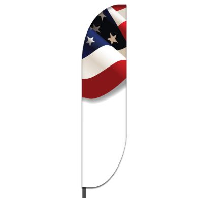 American Feather Flag Design 01