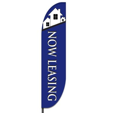 Now Leasing Flags Design 05