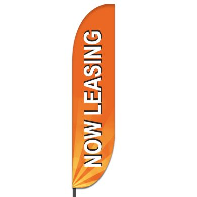 Now Leasing Flags Design 06