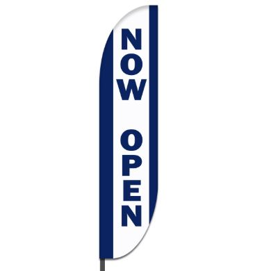 Now Open Flags Design 02