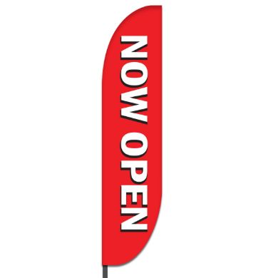 Now Open Flags Design 03
