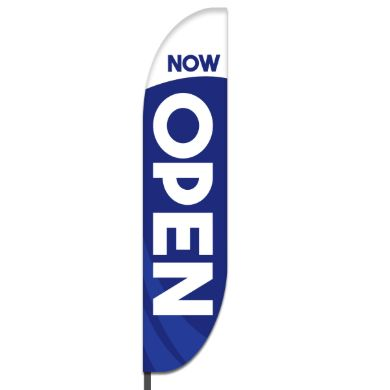 Now Open Flags Design 04