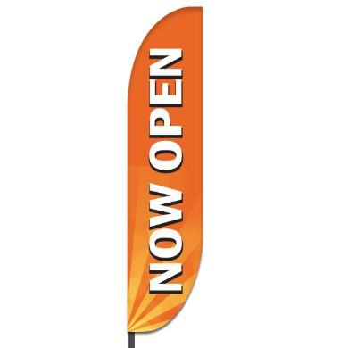 Now Open Flags Design 05