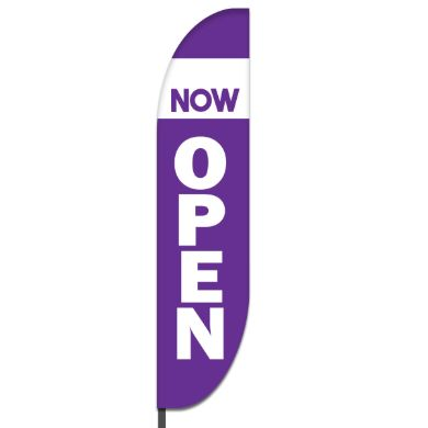 Now Open Flags Design 06