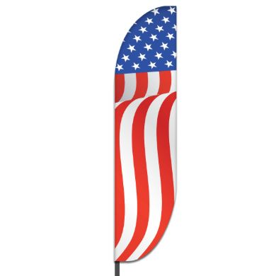 American Feather Flag Design 08