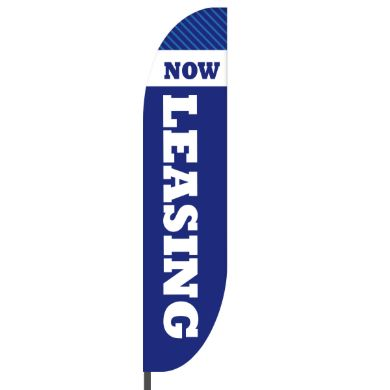 Now Leasing Flags Design 02