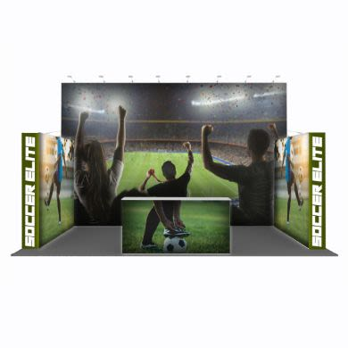 Popular Backlit Display Combination 02 (20' x 10 ' x 10')