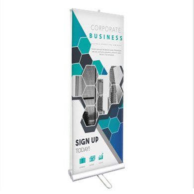 Retractable Banner Stands (Double Sided Standard)