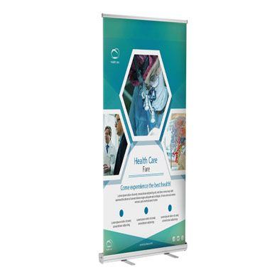 Retractable Banner Stands (Economy)